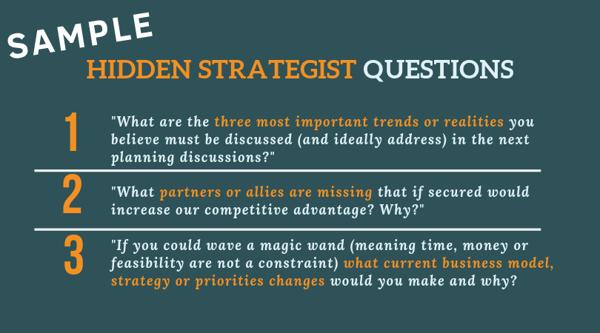 3 hidden strategist questions