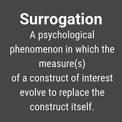 what is surrogation?