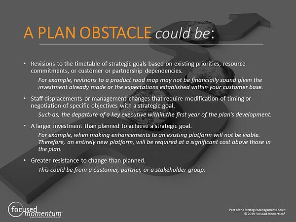Plan obstacle examples