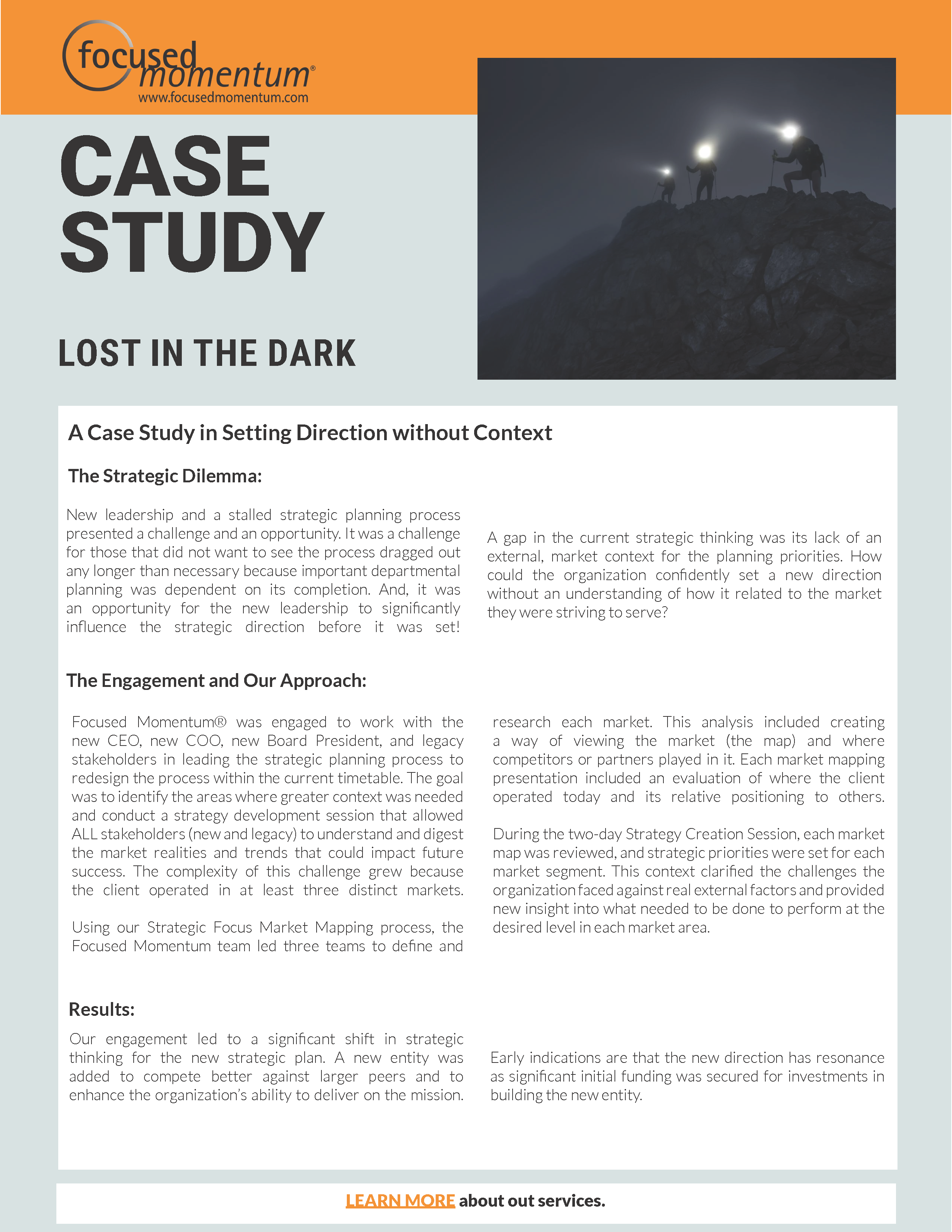 Lost in the Dark Aug 2020