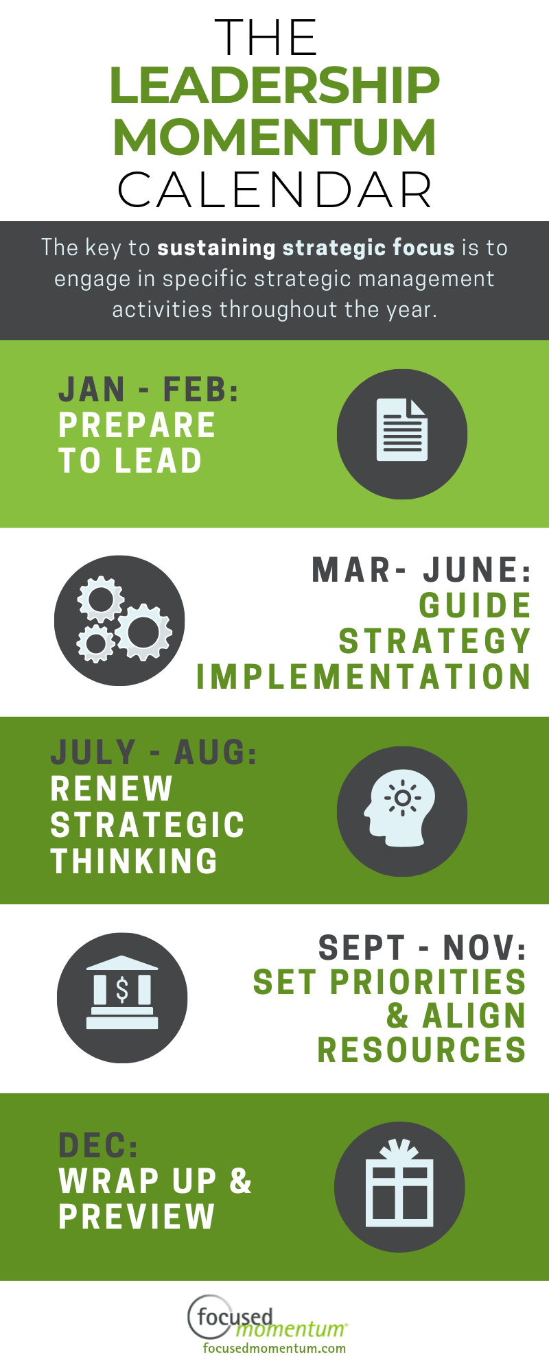 leadership momentum calendar sidebar