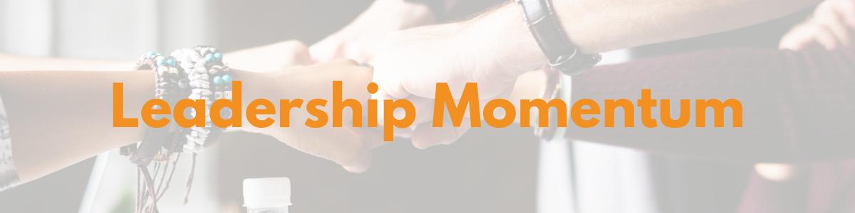Leadership Momentum header image