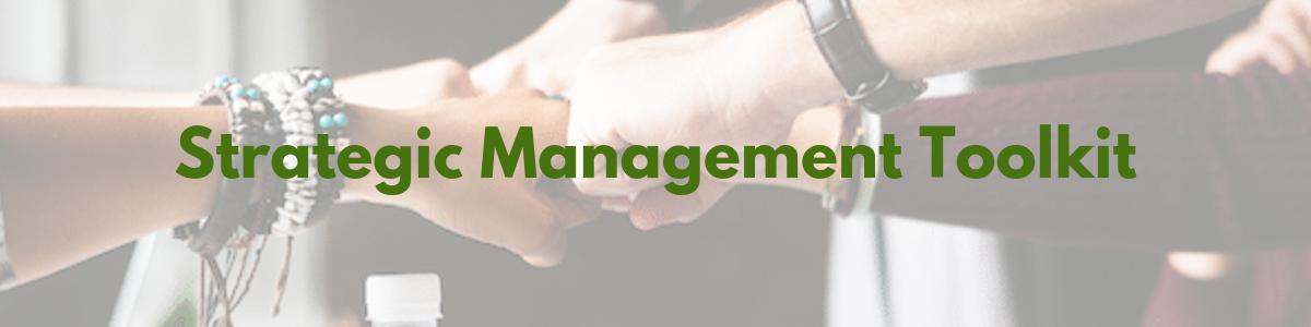 Strategic Management Toolkit Header