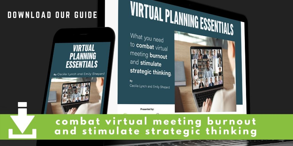 Virtual Planning Essentials banner images